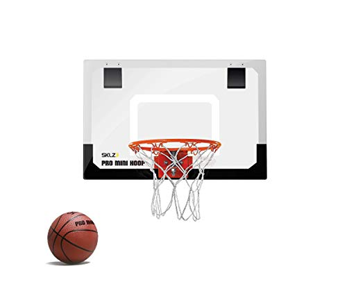 SKLZ Pro Mini Basketball Hoop with Ball, Standard (18 x 12...