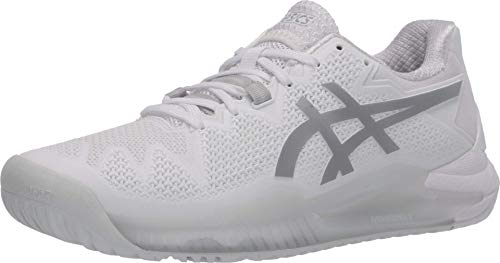 ASICS Men's Gel-Resolution 8 L.E. Tennis Shoes, 6M, Black/Sunrise...