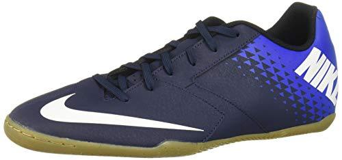 Nike Men's Bombax Indoor Soccer Shoes (Blue/White-Blue) Size:...