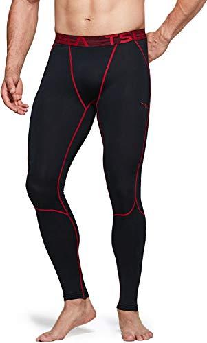 TSLA Men's Compression Pants, Athletic Sports Yoga Leggings &...