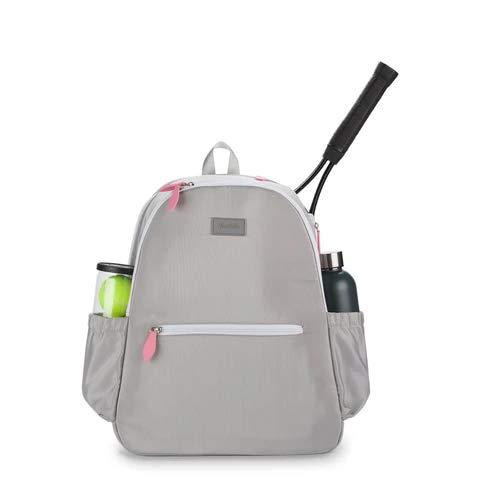 Ame & Lulu Grey Courtside Tennis Backpack