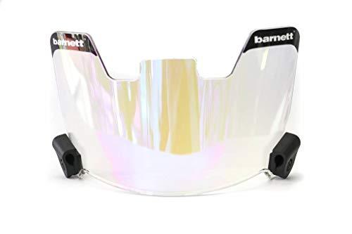 BARNETT Football Eyeshield Visor, revo Blue, Eyes-Shield