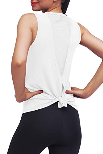 Mippo Womens Workout Tops Athletic Yoga Tops for Women Mesh...