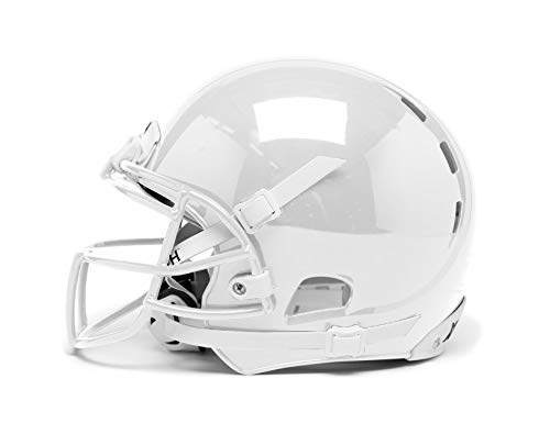 Xenith Youth X2E+ White Football Helmet w/Grey XRS21 Facemask &...