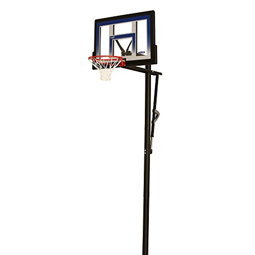 Lifetime 90020 Height Adjustable In Ground Basketball System, 48...