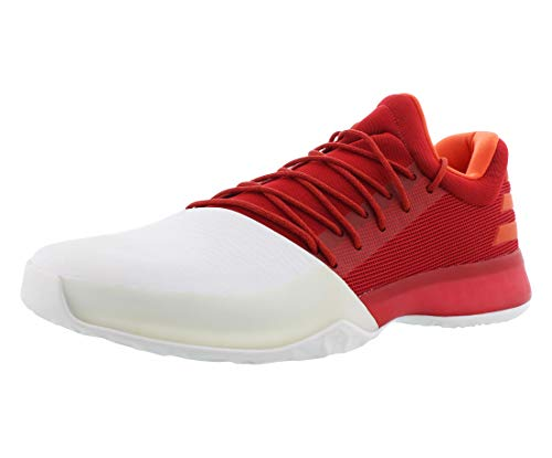 adidas Harden Vol.1 Men's Shoes Scarlet/Running White bw0547 (8.5...