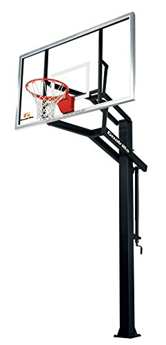 Goalrilla GS I In-Ground Basketball System with 72' x 42'...