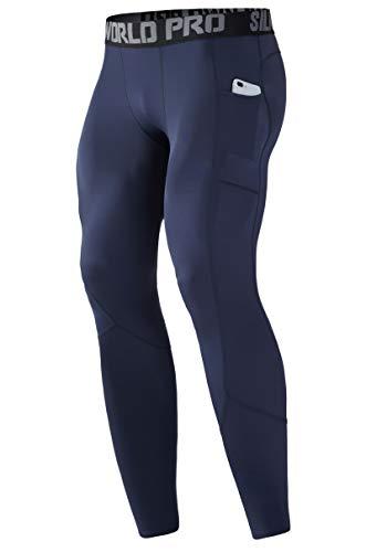 SILKWORLD Men's Long Johns Underwear Thermal Tights Compression...