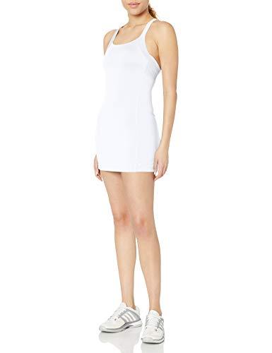ASICS Women's Rally Dress Short Sleeve, White, Small