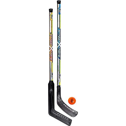 Franklin Sports Street Hockey Set - NHL - Goalie and Player...