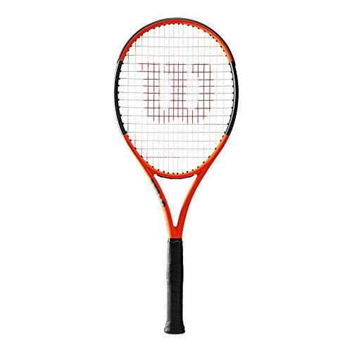 Wilson Burn 100ls Limited Edition Tennis Racquet, Orange/Black -...