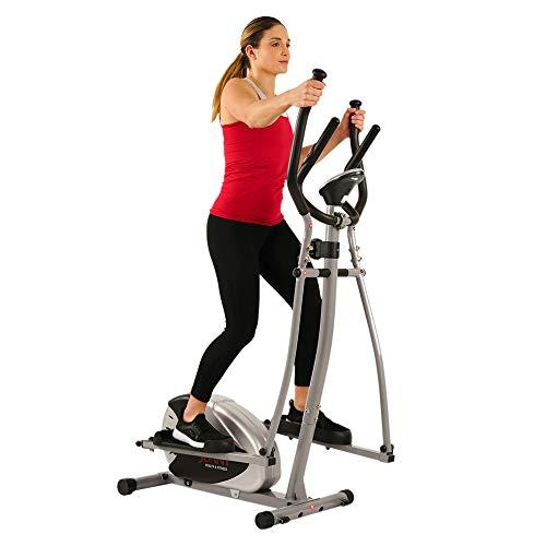 Sunny Health and Fitness Magnetic Elliptical Bike