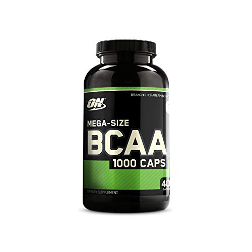 Optimum Nutrition Instantized BCAA Capsules, Keto Friendly...