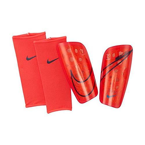 Nike Mercurial Lite Shin Guards - Crimson-Black L