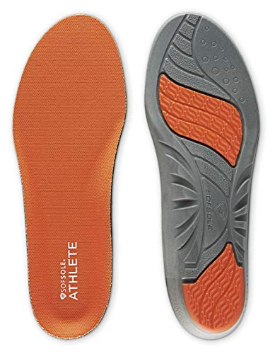 Sof Sole Insoles Men's ATHLETE Performance Full-Length Gel Shoe...