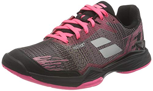 Babolat Women's Tennis Shoes, Pink Black, 7.5 US
