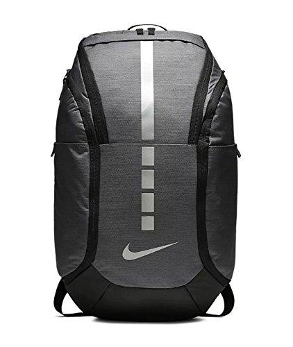 Nike Hoops Elite Pro Backpack (DARK GREY/BLACK/MTLC COOL GREY)
