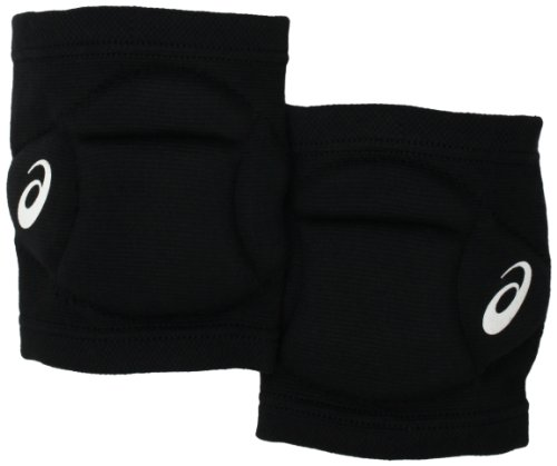 ASICS Setter Knee Pad, One Size Fits All, Black