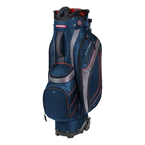 Datrek Transit Golf Cart Bag, Navy/Charcoal/Red