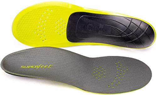 Superfeet Unisex-Adult Carbon Pain Relief Strong and Thin Insoles...