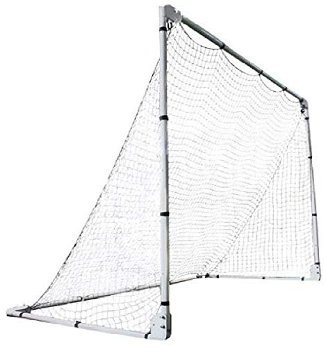 Lifetime 90046 Soccer Goal with Adjustable Height and Width, 7' x...