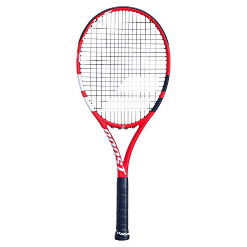 BABOLAT Boost S Strung Racket, Adult Unisex, Red Black White...