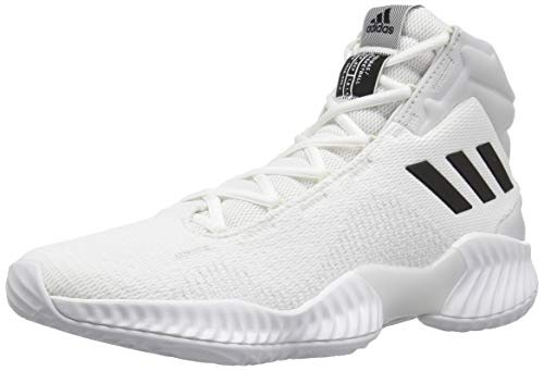 adidas Men's Pro Bounce 2018 Basketball Shoe, White/Black/Crystal...