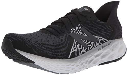New Balance Men's Fresh Foam 1080 V10 Running Shoe, Black/Steel,...