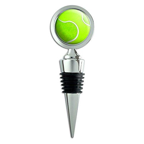 Tennis Ball Wine Bottle Stopper