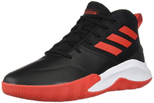 adidas Men's OwnTheGame Wide Basketball Shoe, black/active...