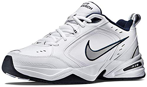 Nike Men's Air Monarch IV Cross Trainer, White/Metallic...