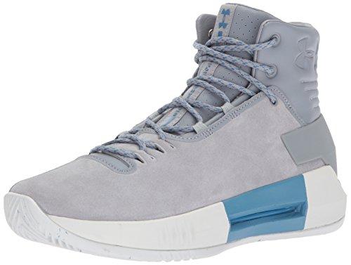 Under Armour Men's Drive 4 Premium Basketball Shoe, Steel...