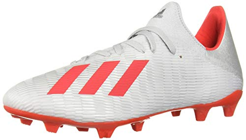 adidas Men's X 19.3 Firm Ground Soccer Shoe, Silver...