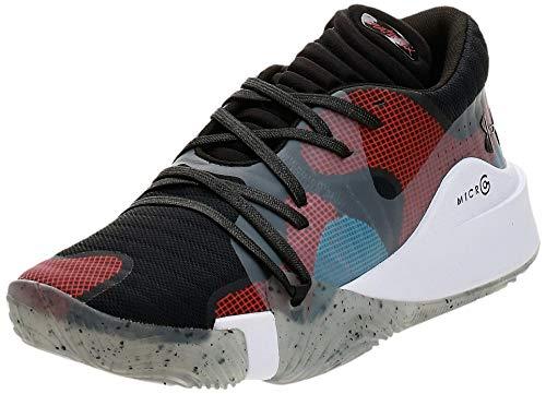 Under Armour Men's Spawn Low Basketball Shoe, Black (002)/White,...
