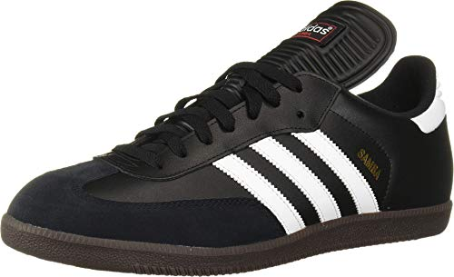 adidas Men's Samba Classic Soccer Shoe,Black/Running White,9.5 M...