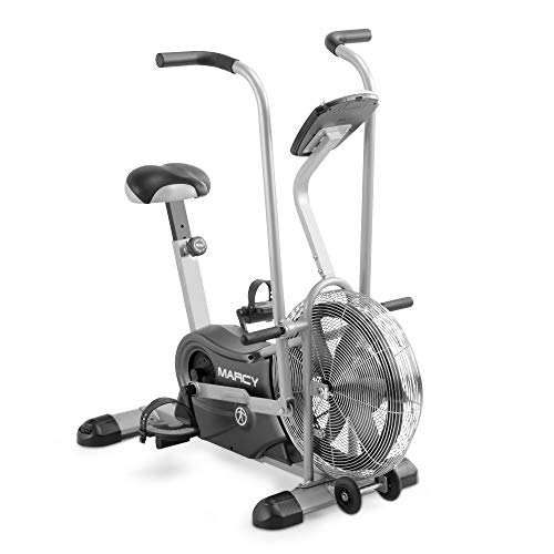 Marcy Exercise Upright Fan Bike for Cardio Training and Workout...