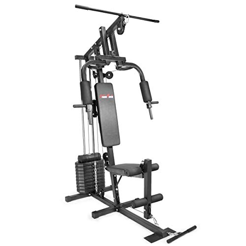 XtremepowerUS 90-lbs Multifunctional Home Gym Station for Total...