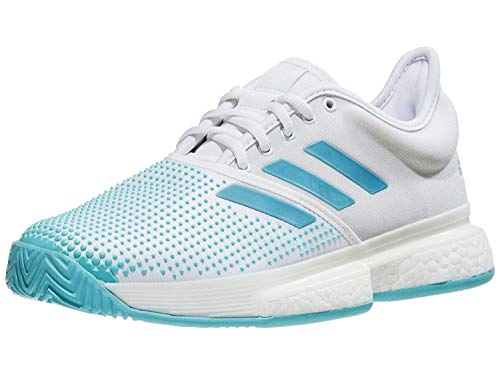 adidas SoleCourt Boost X Parley White/Vapour Blue/Blue Spirit 10