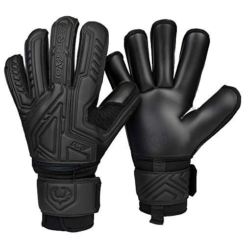 Renegade GK Fury Nightfall Goalie Gloves with Pro-Tek Fingersaves...