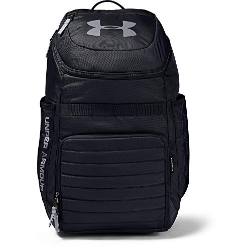 Under Armour Undeniable 3.0 Backpack, Black/Steel, One Size