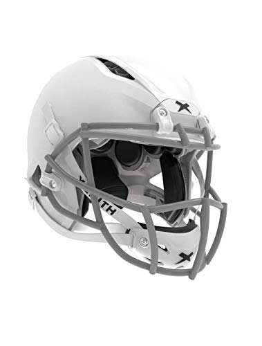 Xenith Shadow XR Youth White Football Helmet w/Grey Prime...