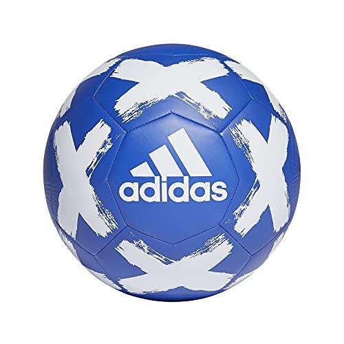 adidas Starlancer V Club Soccer Ball Team Royal Blue/White 3