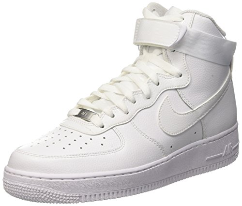 Nike Mens Air Force 1 High '07 White/White 315121-115 9