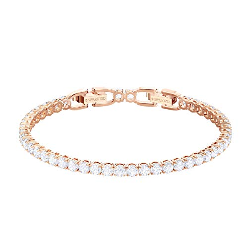 Swarovski Tennis Deluxe Collection Women's Tennis Bracelet,...