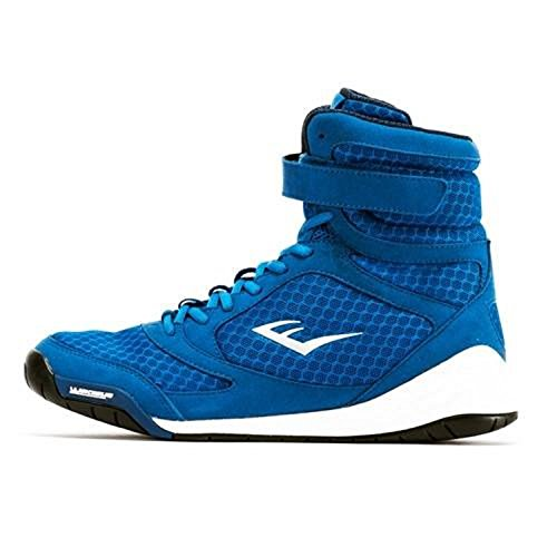 Everlast New Elite High Top Boxing Shoes - Black, Blue, Red...