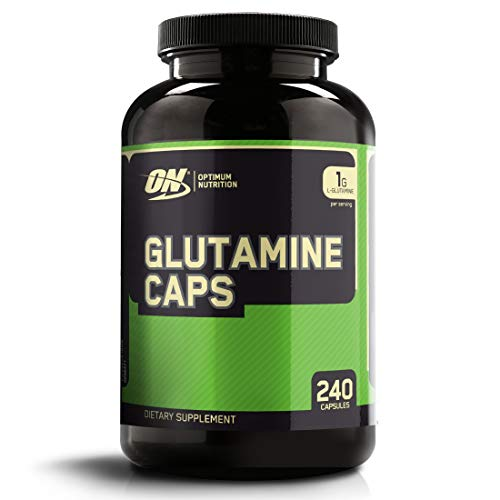 Optimum Nutrition L-Glutamine Muscle Recovery Capsules, 1000mg,...