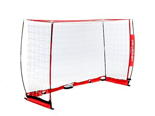 PowerNet Soccer Goal 6ft x 4ft Portable Bow Style Net |...