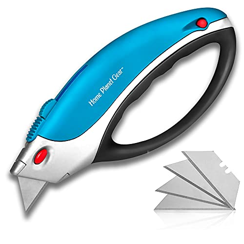 Box Cutters Utility Knife - Retractable - Multi-Position Blade,...