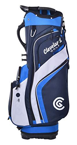 Cleveland Golf Cart Bag, Navy/Royal/White