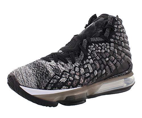 Nike Lebron 17 (Black/Black-White 8.5)